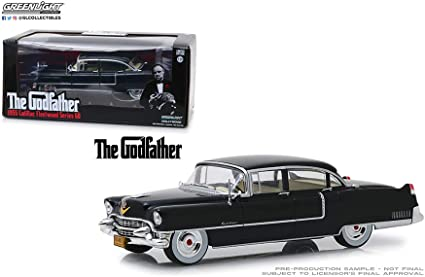 The Godfather 1955 Cadillac Fleetwood Series 60 model Die Cast Car 1:64