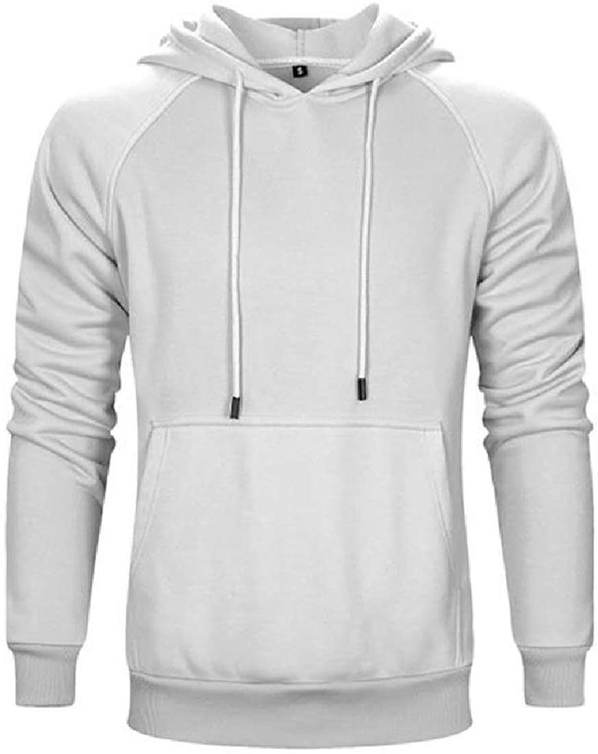 Comaba Mens Sweatshirts Hood Pullover Long-Sleeve Hooded Jacket
