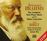 Brahms:  The Complete Solo Piano Music and the