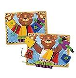 Melissa & Doug Toys - Basic Skills Board