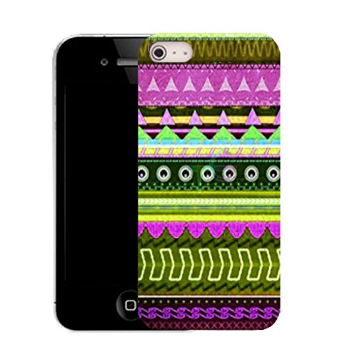 Mobile Case Mate IPhone 4 clip on Silicone Coque couverture case cover Pare-chocs + STYLET - primeval pattern (SILICON)