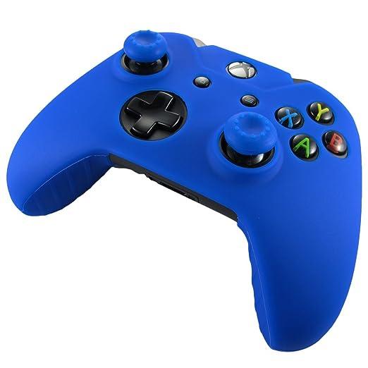 330 opinioni per Pandaren® Pelle cover skin per il Xbox One controller(blu) x 1 + pollice presa x