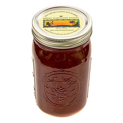 Raw Unfiltered Macadamia Nut Blossom Honey