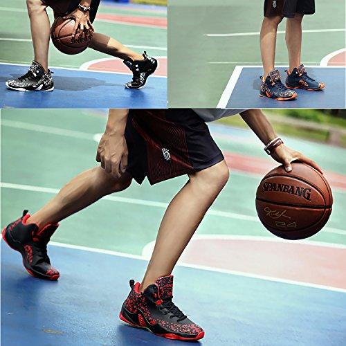 Zapatillas Rojo Hombre Baloncesto para de grTgRZqx