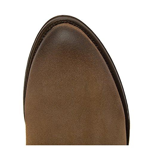Stivali Clotilde Da Donna Resistenti Pelle Scamosciata Taupe