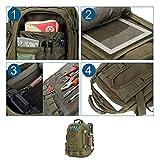 WolfWarriorX Backpack Military Backpacks for Men