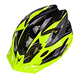 Deercon Adjustable Unisex Adult Outdoor Sports Bike Bicycle Cycling Safety Helmet Lightweight(11 colors)