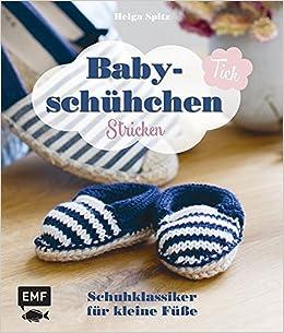 Babyschühchen Tick Schuhklassiker Für Kleine Füße Stricken Amazon