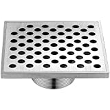 Dawn SRE050504 Rhone River Series Square Shower Drain, 5-Inch