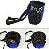 Kangkang@ Pet Dog Treat Pouch Dog Training Food Treat Bags Portable Detachable Doggie Pet Feed Pocket Pouch Puppy Snack Reward Waist Bag