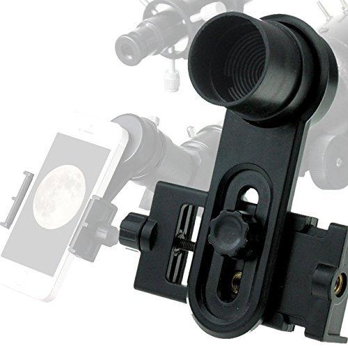 Solomark 1.25inch Universal Smartphone Eyepiece Adapter - 10mm Kellner Eyepiece Design by SOLOMARK