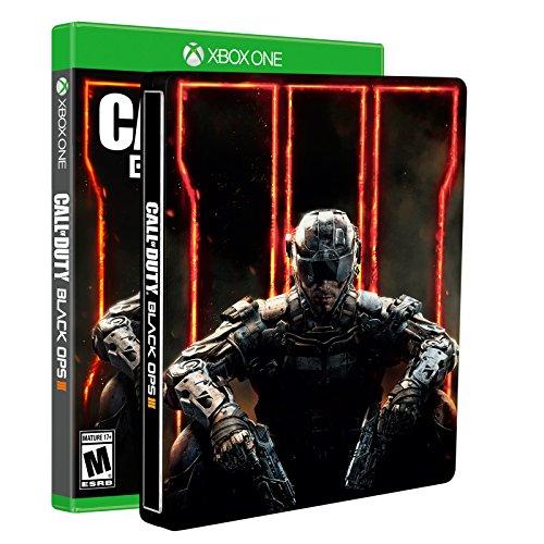 Call of Duty: Black Ops III - Steelbook Edition - Xbox One  - Amazon Exclusive (Call Of Duty Black Ops 2 Cover)