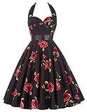 Dancing Swing Dress 50s Rockabilly Clothing for Women 75-28, L