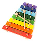 Personalised Engraved Wooden Xylophone Baby Toddler Gift