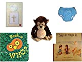 Children's Gift Bundle - Ages 0-2 [5 Piece] Includes: Russ Berrie Gifts of Faith ''My Confirmation'' Porcelain Bisque Wall Cross, Circo Infant Reusable Swim Diaper Blue Size L 18 Months 22-25 lbs, Gan