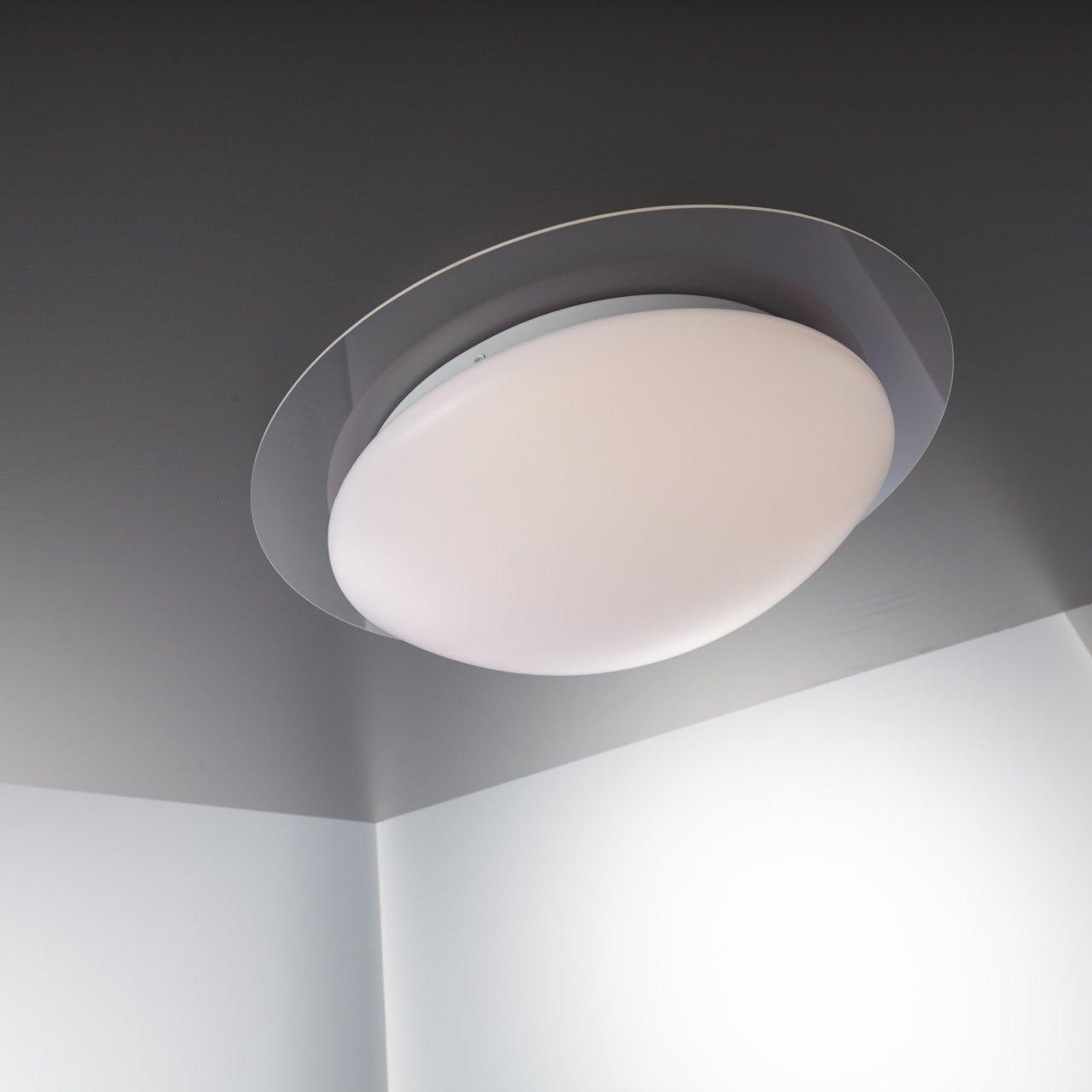 LED Deckenleuchte Dimmbar 16 Farben Inkl. LED-Platine 230V IP44 ...