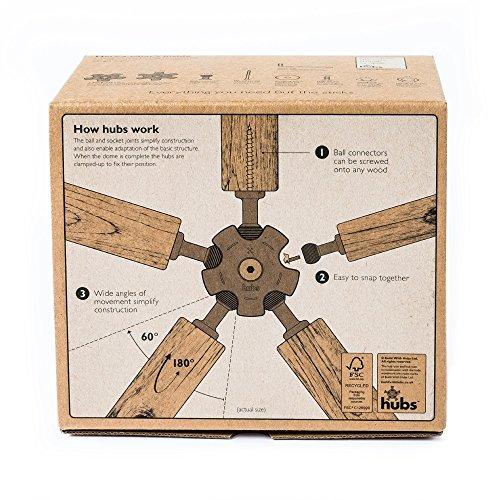 Famoso Geodesic Dome kit: Amazon.it: Giardino e giardinaggio QX67