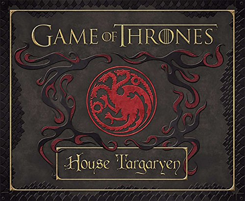 Book cover from Game of Thrones: House Targaryen Deluxe Stationery Set (Insights Deluxe Stationery Sets) by HBO
