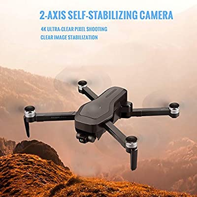 HRYHY 4K Aerial High-Definition Professional Drone, Hovering Intelligent Return Flight Remote Control Aircraft, Support One-Button Operation, 50 Minutes Battery Life (High-End Backpack + Memory Card)