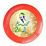 Kim Lennon 2016 Brazil Torch Relay Custom Leisure Plastic Flying Disc Colors And Styles Vary Red