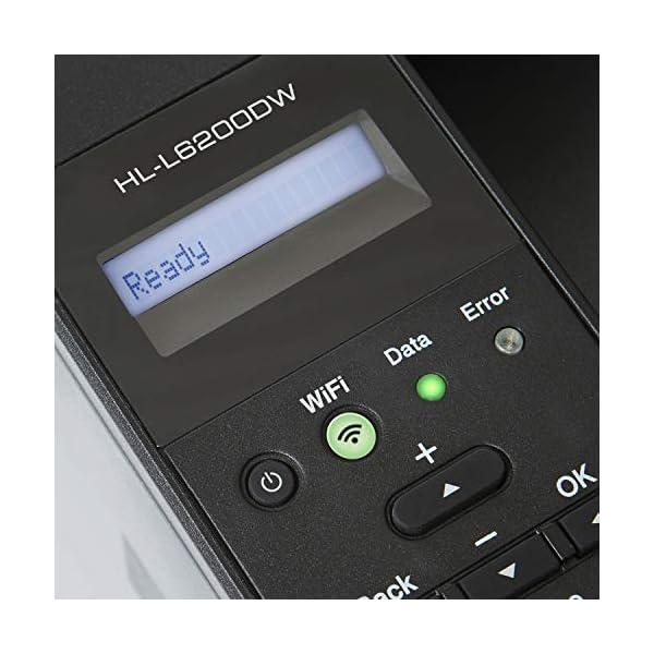 Brother HL-L6200DW Wireless Monochrome Laser Printer with Duplex Printing Dash Replenishment Ready
