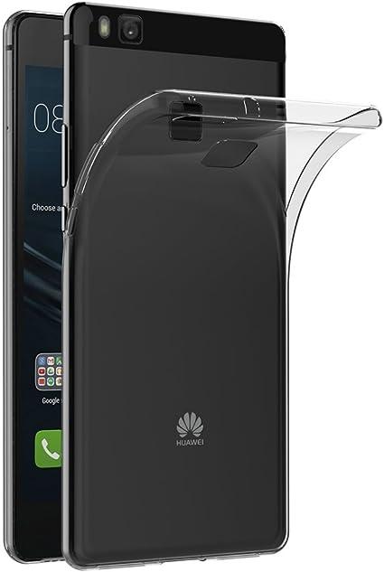 AICEK Funda Huawei P9 Lite, Huawei P9 Lite Funda Transparente Gel ...