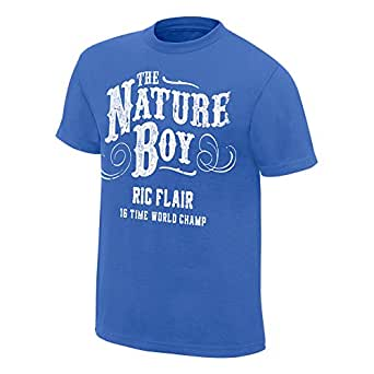 """Ric Flair """"The Nature Boy"""" Ripple Junction T-Shirt, S [Apparel]"""