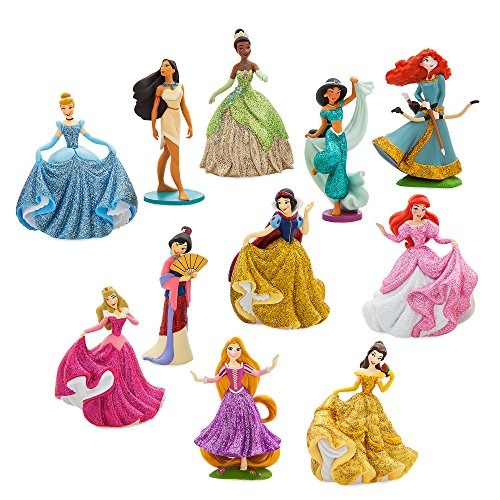 (Disney Disney Princess Deluxe Figure Play Set - ''Happily Ever After'')