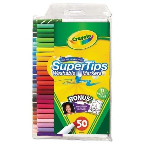 - CYO585050 - Crayola Washable Super Tips Fine Line Markers