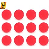 Skeleteen Red Carnival Clown Noses - Red Sponge Nose for Circus Costume Party Supplies - 12 Pieces