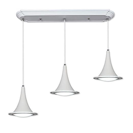3 x LED creativo - Lámpara de techo, diseño moderno sencilla ...