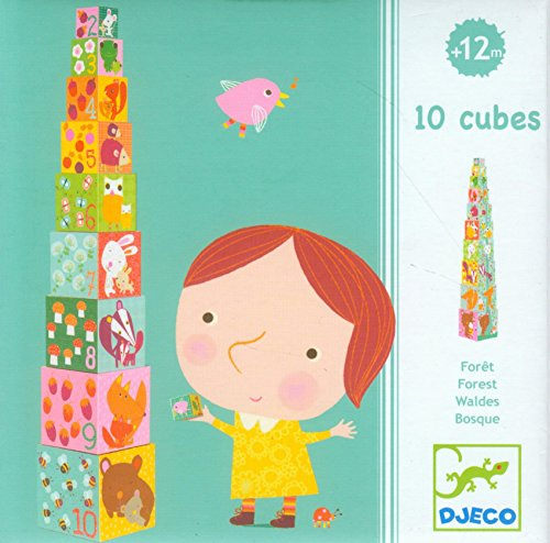Djeco Forest Stacking Blocks