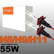Engync® 55W H11 Xenon HID Replacement Bulbs | HID Xenon Headlight Bulb Hi/Low 5000K OEM White Color| 3 Years Warranty