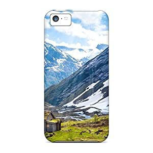 Jeffrehing Iphone 5c Well-designed Hard Case Cover Norway Summer Protector