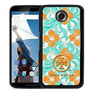 Beautiful And Unique Designed Case For Google Nexus 6 With Tory Burch 27 Black Phone Case