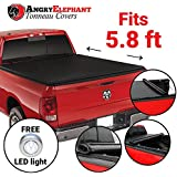 Premium Roll-Up Tonneau Truck Bed Cover by - 2009-2014 Dodge Ram 1500 5.8 Ft Bed (69.6 Inch) (Without Ram Box)