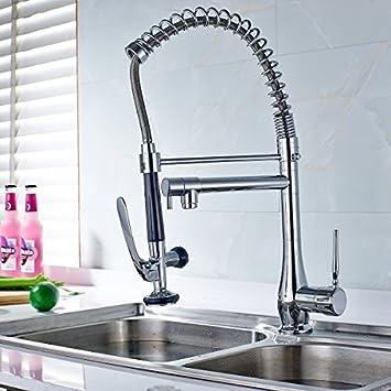 Timaco Küche Wasserhahn für Profiküche Spültischarmatur Armatur ...