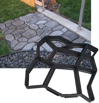 Hengda® – Molde para pavimento, camino, pavimento, pavimento, para jardín: Amazon.es: Iluminación