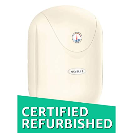 d69cb25d2810df Buy (CERTIFIED REFURBISHED) Havells Puro Plus 5S 25-Litre Storage Water  Heater (Ivory) Online at Low Prices in India - Amazon.in
