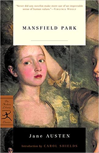 Image result for mansfield park austen modern library