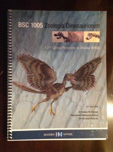 Bsc1005 Zoologia Dinosauriorum
