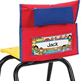 Store More Deluxe Chair Pockets - Early Childhood - Red - Set O
