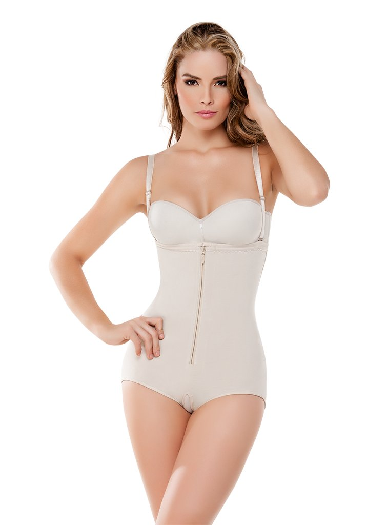fc8c5b2d3d Amazon.com  Made In Colombia Fajate CYSM 292 -Body Térmico Strapless Slimming  Strapless Thermal Body Shaper  Sports   Outdoors