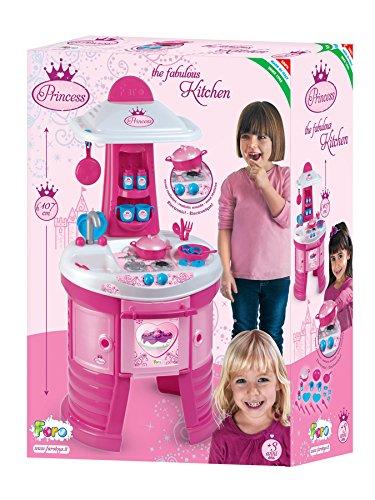 2 opinioni per Faro Toys 1556, Cucina Disney Princess Kitchens, elettronica alta 105 cm