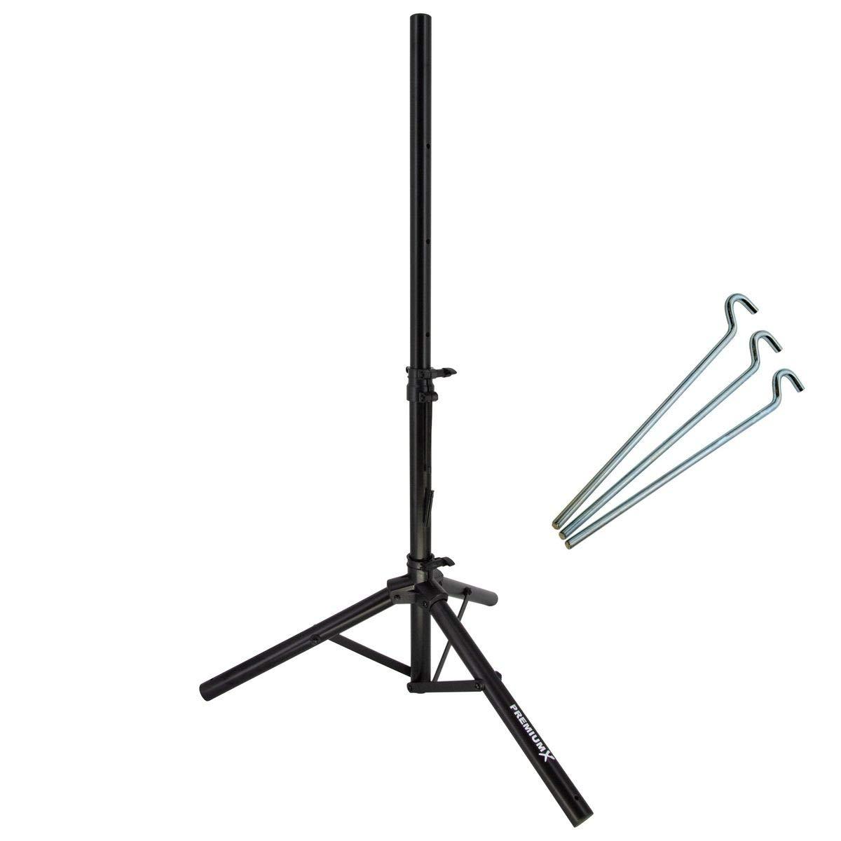 Premiumx /ø32mm para tr/ípode de acero Basic 120 cm Altura SAT soporte para antena parab/ólica de 80//85 cm atrasmalladas outwell balc/ón TR iPod en colour negro