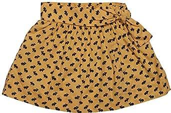 Chandamama Kids Yellow Cotton Skirts Skirt For Girls