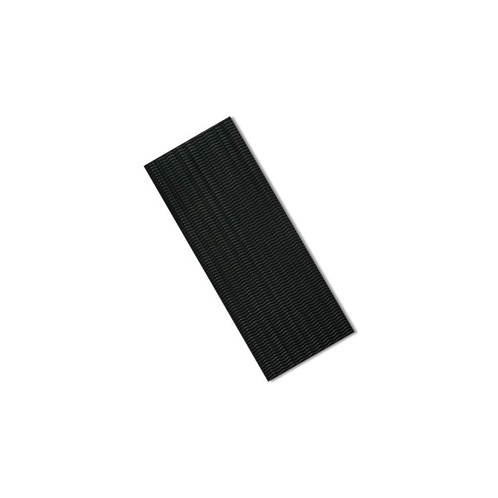 "TapeCase 2-6-10-SJ3551 3M SJ3551 Dual Lock Reclosable Fastener, Rectangle, 2"" Wide, 6"" Length, Black (Pack of 10)"