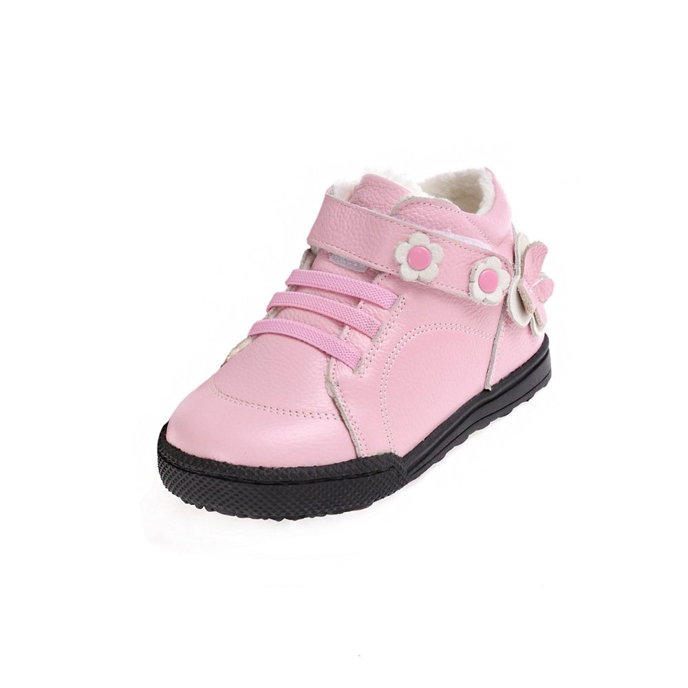 HLT Toddler/Little Kid Butterfly Flowers Anti-shock Outsole Pink Sport/Uniform Shoe [US 9 / EU 25]