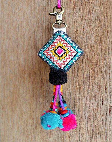 Multicolor Thread Handmade Bohemian Moroccan