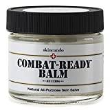 Combat Ready Skin Balm 2oz by Skincando – All Natural – Intensive Moisturizer – Skin Cream – Organic ingredients – Apricot Kernel Oil – Grapefruit Seed Extract – Black Spruce – Black Tea Moisturizer For Sale